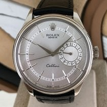 Rolex Cellini Date Or blanc 39mm