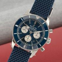 Breitling Superocean Chronograph II Steel 44mm Blue