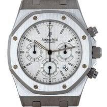 Audemars Piguet Royal Oak Chronograph Stal 39mm Srebrny
