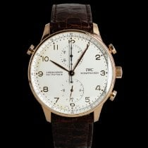 IWC 3712 Red gold Portuguese Chronograph 41mm pre-owned