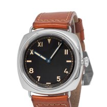 Panerai Special Editions Steel 47mm Black Roman numerals United States of America, New York, Hartsdale