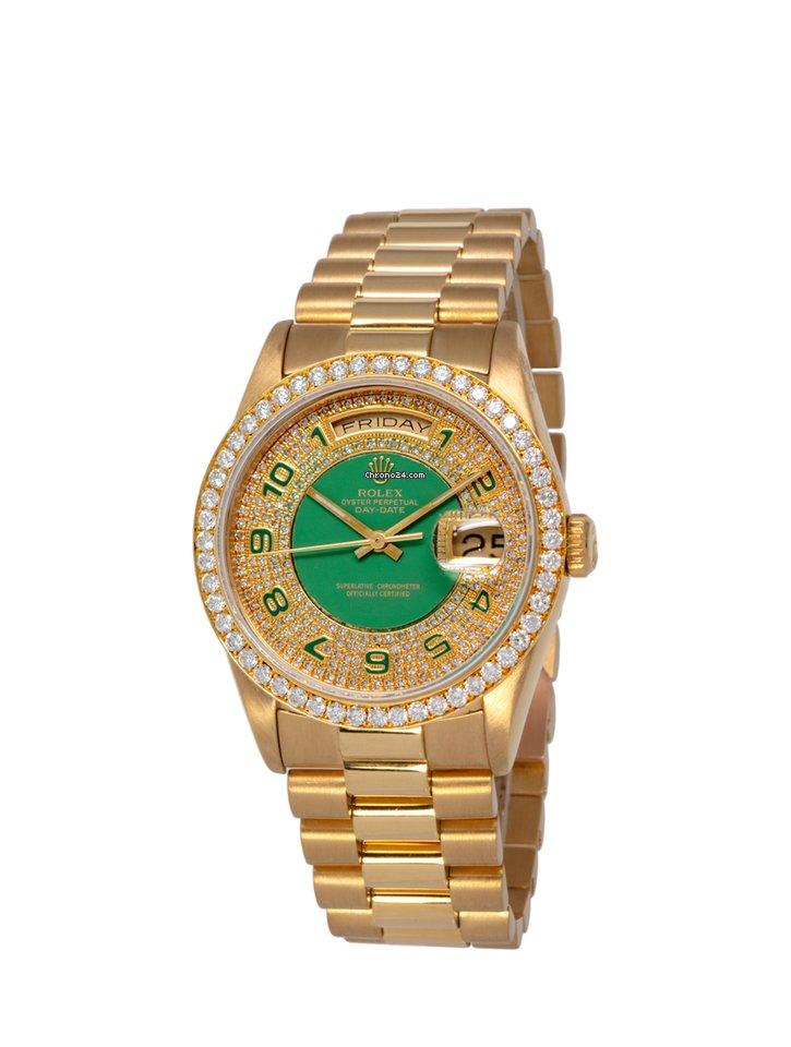 Rolex Day-Date 36 18238 1999 подержанные