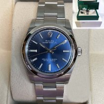 Rolex Oyster Perpetual 34 34mm Blue United States of America, Pennsylvania, Philadelphia