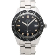 Oris 01 733 7720 4055-07 8 21 18 Steel 2018 Divers Sixty Five 42mm pre-owned