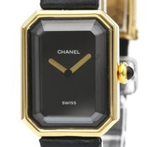 Chanel Première pre-owned 20mm Black Leather