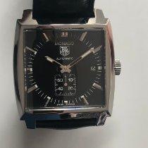 TAG Heuer Monaco Calibre 6 Steel 38mm Black No numerals United Kingdom, London