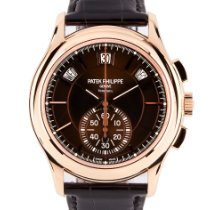 Patek Philippe Annual Calendar Chronograph Rose gold 42mm Brown No numerals United Kingdom, London