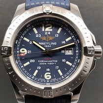 Breitling Colt 44 Steel 44mm Blue Arabic numerals
