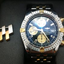 Breitling Chronomat Evolution Acero y oro 44mm Negro Sin cifras