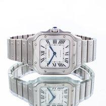 Cartier Santos (submodel) Сталь 35.1mm Cеребро Римские