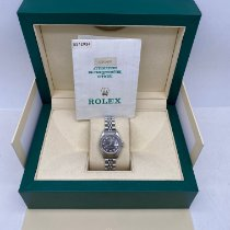 Rolex Oyster Perpetual Lady Date Steel 26mm Blue No numerals United Kingdom, LONDON