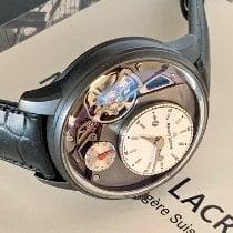 Maurice Lacroix Masterpiece Gravity Stahl 43mm Weiß