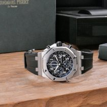 Audemars Piguet Royal Oak Offshore Chronograph Acier 42mm Bleu Arabes France, Paris