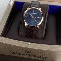 Girard Perregaux 1966 Or rose Bleu