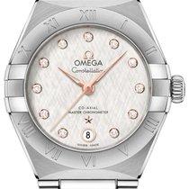 Omega Constellation Acero 29mm Plata
