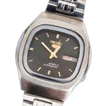 Seiko 5 Steel 30mm Black No numerals United States of America, Texas, Gladewater