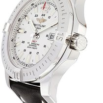 Breitling Colt Automatic Steel 44mm Silver