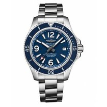 Breitling Steel Automatic Blue Arabic numerals 42mm new Superocean 42