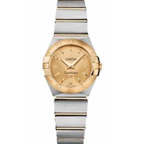Omega Constellation Quartz Gold/Steel 24mm Gold No numerals