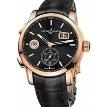 Ulysse Nardin Dual Time 3346-126/92 New Rose gold 42mm Automatic