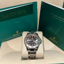 Rolex Yacht-Master 37 Steel 37mm Grey No numerals