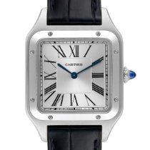 Cartier Santos Dumont Steel 43.5mm Silver Roman numerals United States of America, Georgia, Atlanta