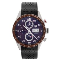 TAG Heuer Carrera Calibre 16 Steel 43mm Brown Arabic numerals United States of America, Florida, Surfside