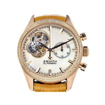 Zenith Rose gold Automatic Mother of pearl 38mm new El Primero Chronomaster Lady