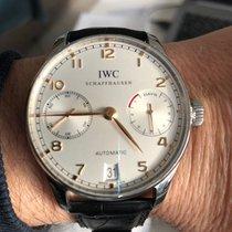 IWC Portugieser Automatik Stahl 39mm Weiß Schweiz, Delémont