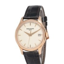 Patek Philippe Rose gold Automatic Champagne 39mm new Calatrava