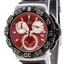 TAG Heuer Formula 1 Quartz Steel 40mm Red No numerals