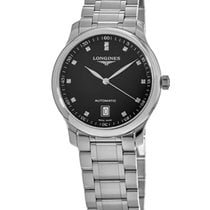 Longines Master Collection Steel 38.5mm Black United States of America, New York, Brooklyn