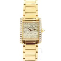 Cartier WJTA0024 Yellow gold 2010 Tank Française 25mm pre-owned United States of America, New York, New York