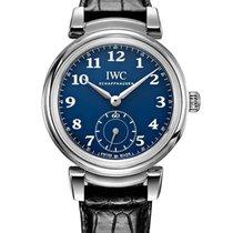 IWC Da Vinci Automatic Acero 40.4mm Azul Arábigos