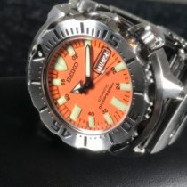 Seiko Monster Steel 42mm Orange United States of America, Florida, Pompano Beach