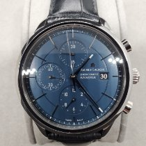 Maurice Lacroix Les Classiques Chronographe Steel 41mm Blue United States of America, Texas, spring