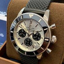 Breitling Superocean Heritage Chronograph Acero 44mm Plata Sin cifras