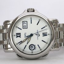 Ulysse Nardin Steel Automatic Silver No numerals 40mm pre-owned San Marco Big Date