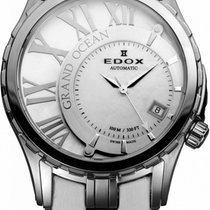 Edox Grand Ocean Steel 39mm White