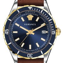 Versace Steel 42mm Quartz new