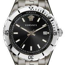 Versace Steel 42mm Quartz new