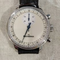 Meistersinger Singular pre-owned 43mm Chronograph Leather