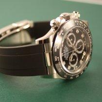 Rolex Daytona White gold 40mm Black No numerals