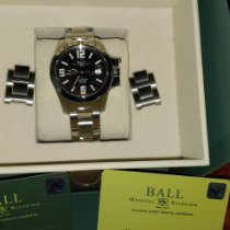 Ball Engineer Hydrocarbon Magnate Acero 40mm Negro