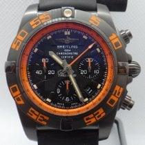 Breitling Chronomat 44 Raven pre-owned 44mm Black Chronograph Date Tachymeter Rubber