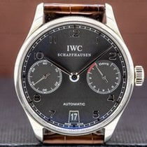 IWC Portuguese Automatic White gold Grey Arabic numerals United States of America, Massachusetts, Boston