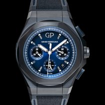 Girard Perregaux Titanium Automatic Blue 44mm new Laureato
