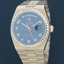 Rolex Day-Date Oysterquartz Yellow gold 36mm Grey