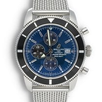 Breitling Superocean Heritage Chronograph Steel 46mm Blue