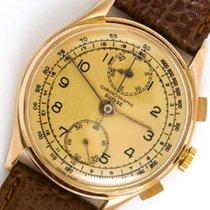 Chronographe Suisse Cie Velmi dobré Růžové zlato 38mm Ruční natahování